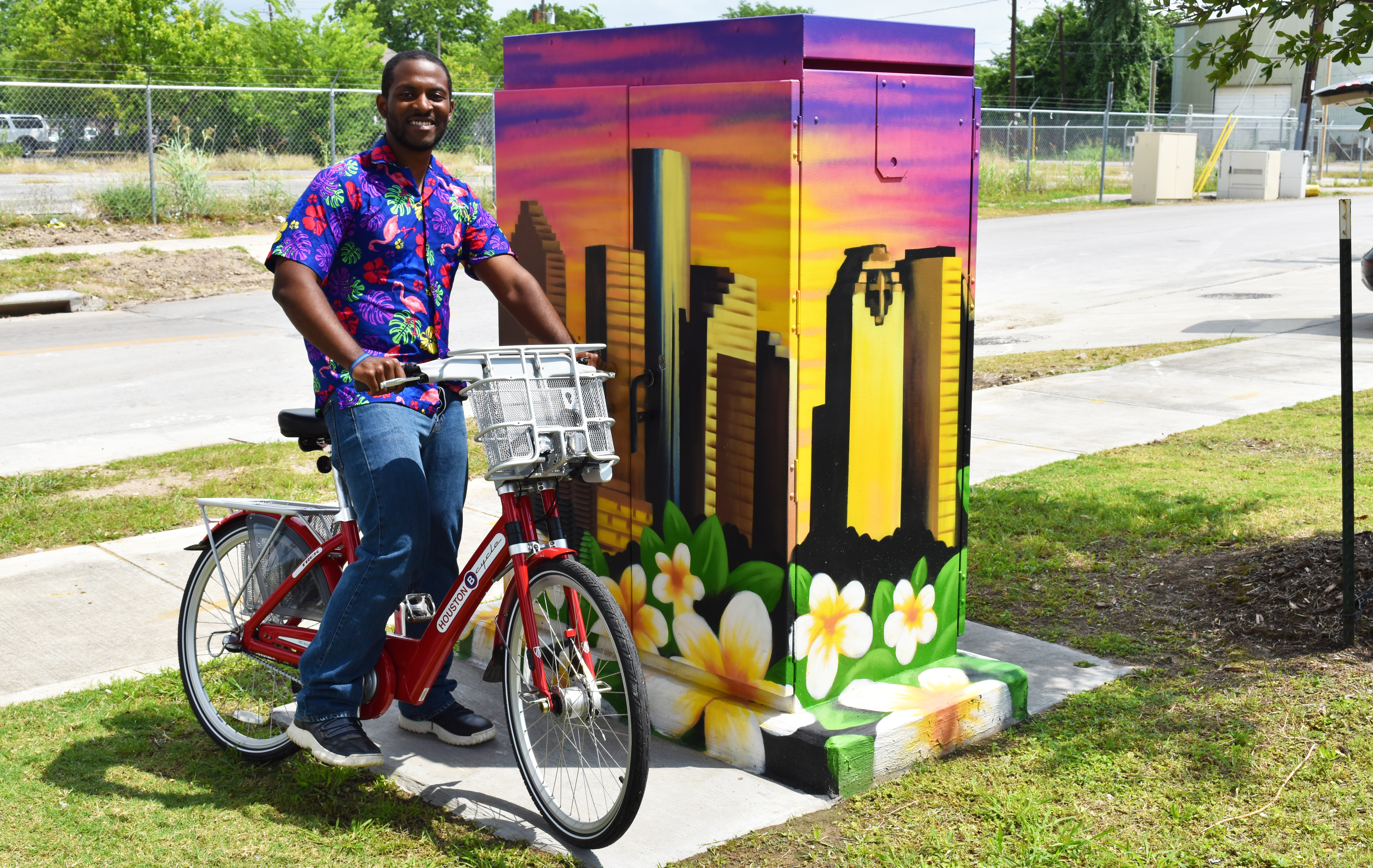Houston BCycle Luau